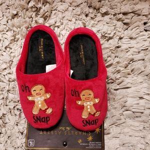 Charles Albert Christmas Slippers Size Large